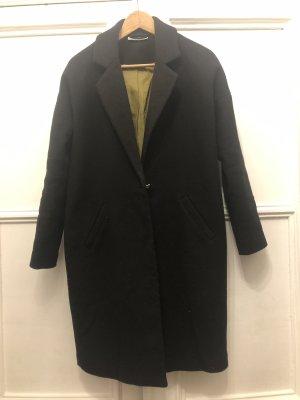 Oversize Winter Mantel schwarz