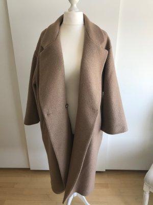 Oversize Wollmantel im Vintagestyle