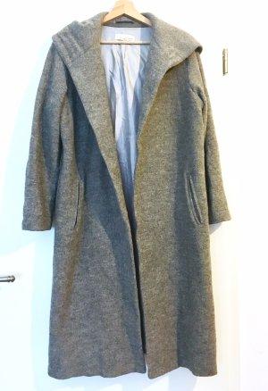 Oversize Wollmantel mit Kaputzen H&M