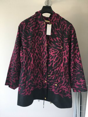 Michael Kors Oversized Jacket black-violet mixture fibre