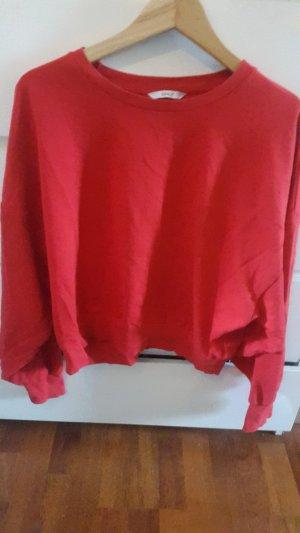 Oversized/ bauchfreier Pullover