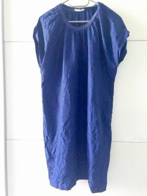 Monki Balloon Dress blue