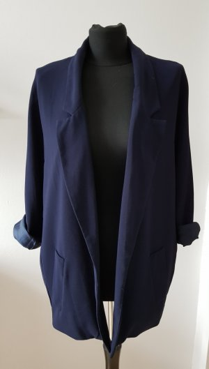Oversized Blazer in dunkelblau