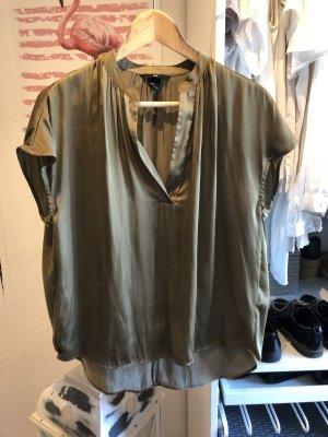 H&M Oversized blouse oker