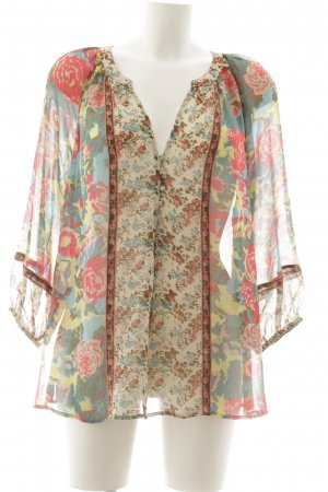 Blouse oversized motif floral style mode des rues