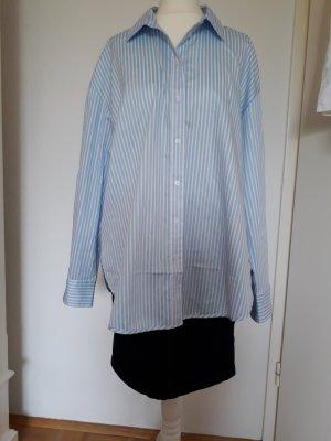 Oversized Bluse  H&M Gr. 36 blau-weiß-gestreift mit Etikett