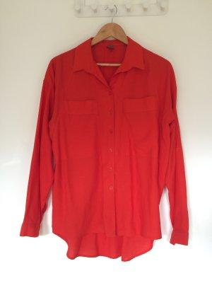 Oversized Bluse im Blogger Style