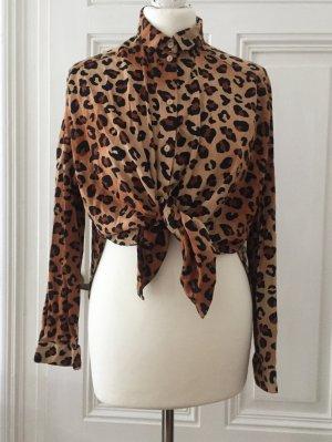 Oversized Bluse in Leolook NEU von Monki
