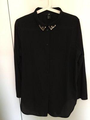 Oversized Bluse mit tollem Kragen