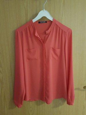 Oversized Bluse orange S Betty Barclay