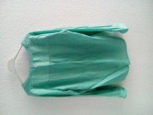 Oversized bluse türkis