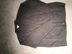 Oversized Cardigan in grau