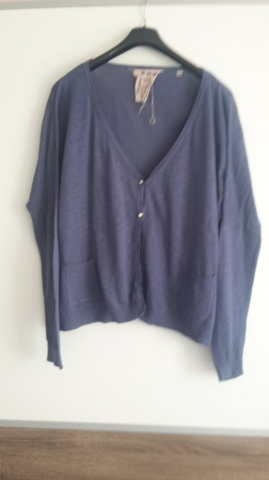 Oversized Cardigan von Broadway in blau