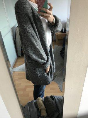 Lucy Paris Cardigan all'uncinetto grigio