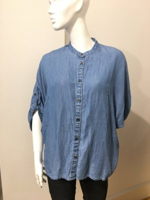 Oversized Denim Bluse
