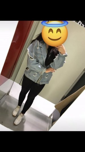 oversized destroyed jeansjacke