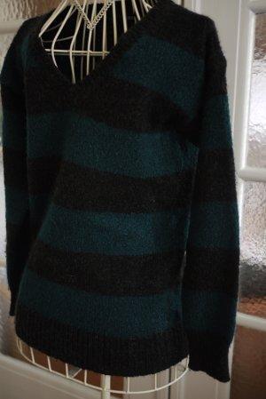 Oversized gestreifter Pullover von asos
