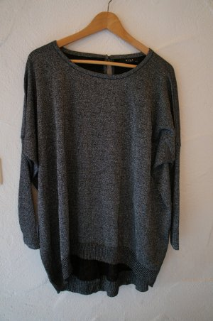 Oversized Glitzer-Shirt Vila One Size