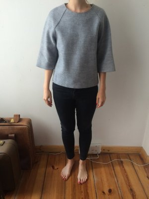 oversized, grafisches Top, Wolle, minimalism, cos