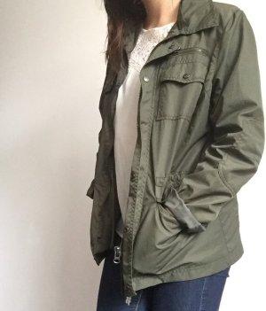 Oversized Grüne Jacke