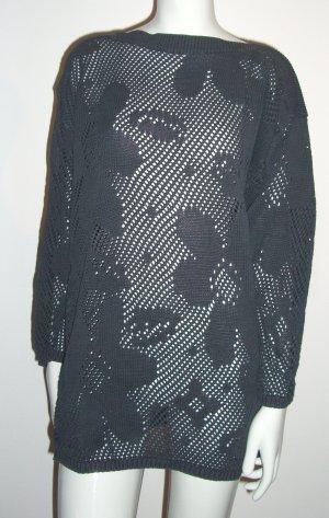 Oversized Häkel-Pullover