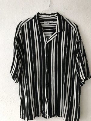 Urban Outfitters Short Sleeve Shirt black-white