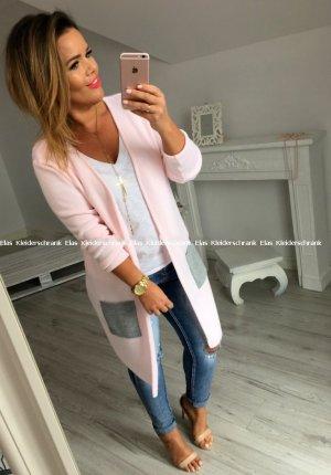Oversized Jacke in Rose passt S-XL