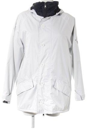 Oversized Jacke weiß Casual-Look