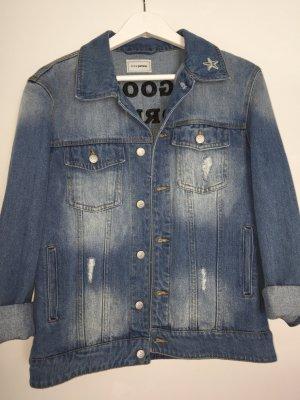 Oversized Jeans-Jacke Gr.M/38