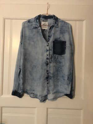 Only Jeans blouse azuur