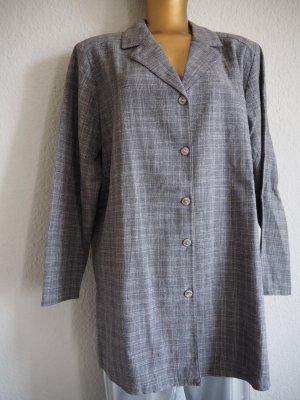 Flannel Shirt light grey-white cotton