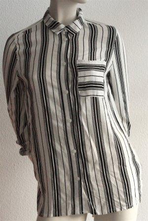 Oversized Langarm-Bluse