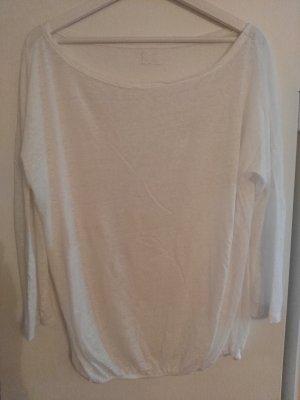 Blaumax Oversized Shirt white linen