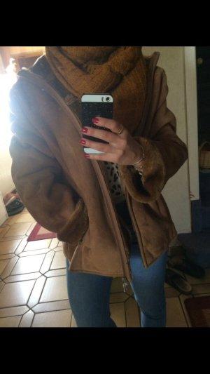 Oversized Jacket brown