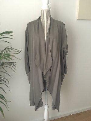 Oversized Mantel aus Lyocell von Zara Gr. S