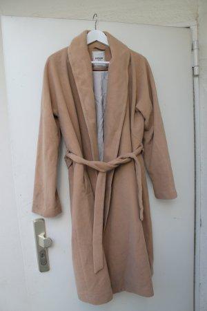 oversized mantel Gr. L Nude Beige blogger
