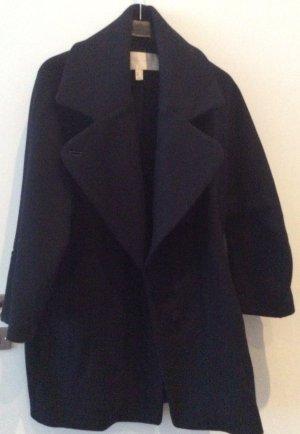 Oversized Mantel mit großem Kragen