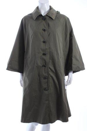 Oversized Mantel olivgrün Casual-Look