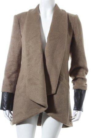Oversized Mantel olivgrün schlichter Stil