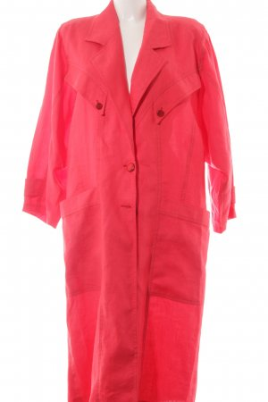Oversized Coat red extravagant style