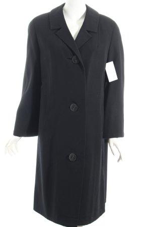Oversized Mantel schwarz extravaganter Stil