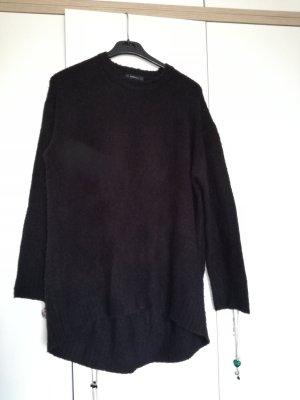 Zara Knit Oversized trui zwart