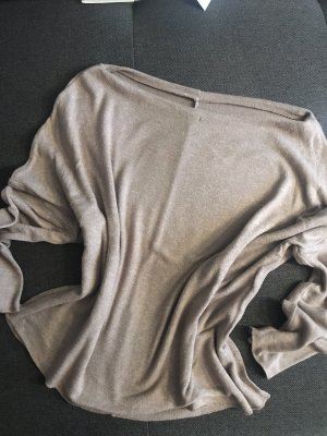 Oversized Pulli - Gr M in taupe