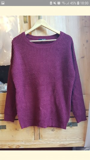 Tally Weijl Maglione oversize rosso mora