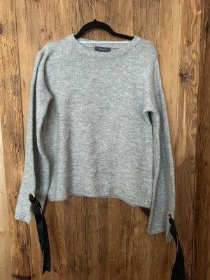 Primark Maglione oversize nero-grigio chiaro
