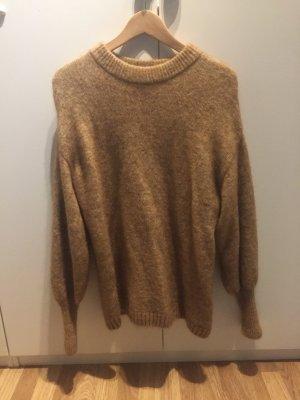 Oversized Pullover aus Mohairmischung