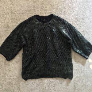 H&M Oversized Sweater dark green