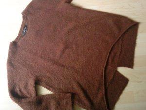 Oversized Pullover in rostrot Größe S von Only