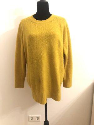 Oversized Pullover Jumper In Senfgelb