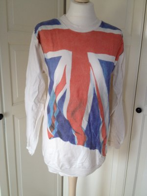 Oversized Pullover London Flagge England unionjack